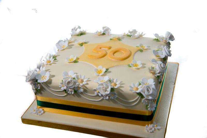 50th anniversary cake-1