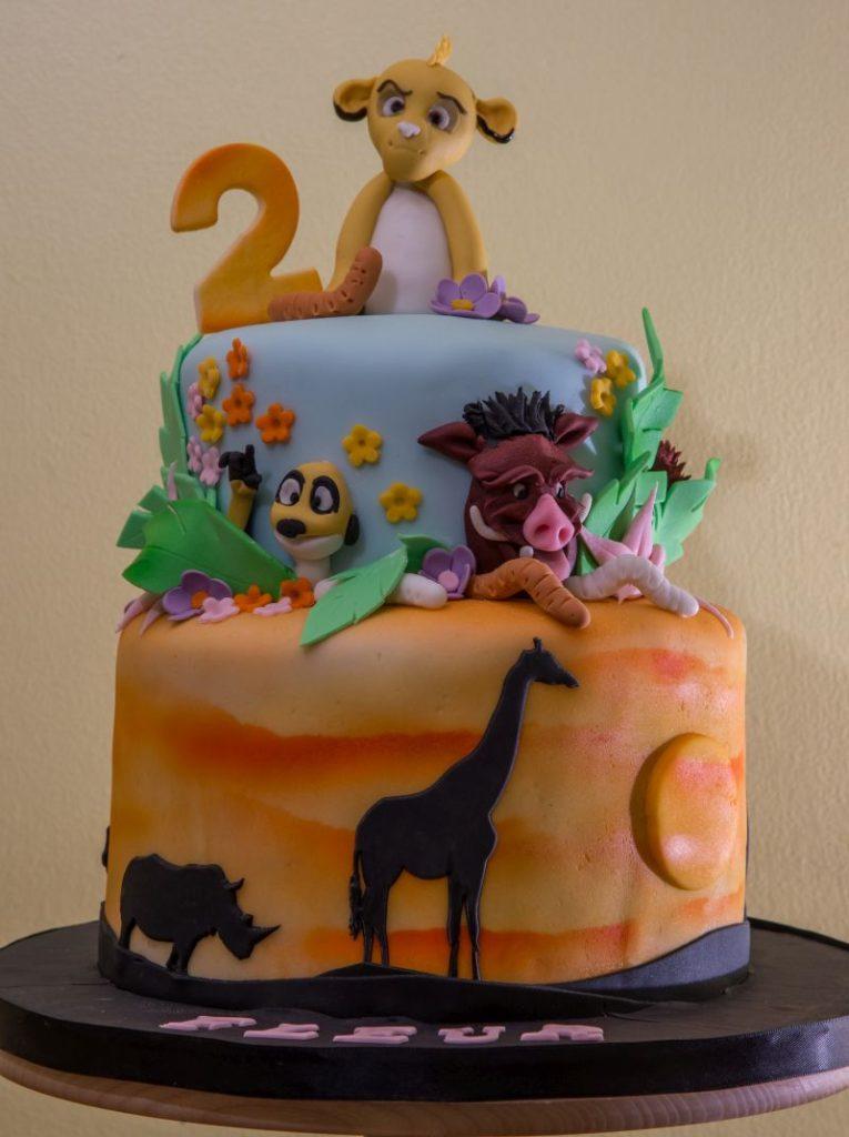 Lion King Cake-1