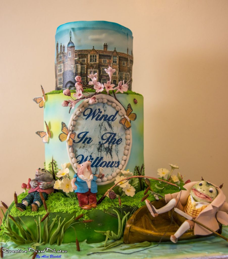Wind in the willows themed cake