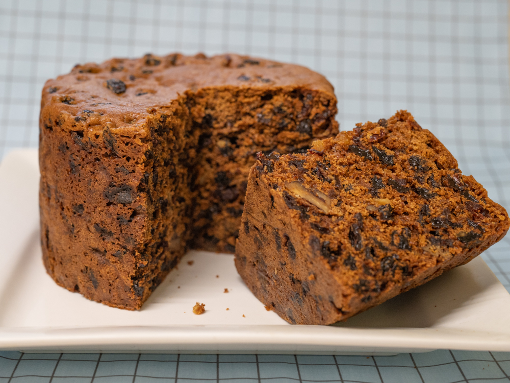 Rich Fruit Cake With or Without Brandy Soaked Fruit